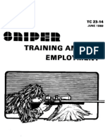 US Army TC 23-14 - Sniper Training and Employment - June 1989