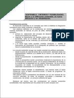La Edificación Sostenible Criterios y Posibilidades.