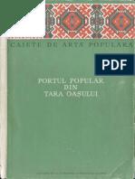 Tancred Bănăţeanu Portul Popular Din Ţara Oaşului