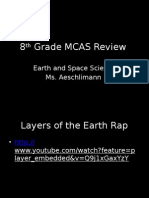 8th grade mcas review - earth and space