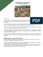 Compte Rendu Du Voyage Au Maroc