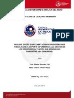 Sistema Web Movil Gestion Servicios Comisarias