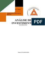 Atps Analise de Investimentos