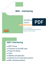8051 - Interfacing