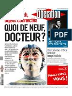 Libération du Mardi 21 Avril 2015