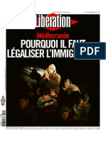 LibeRation Du Mercredi 22 Avril 2015