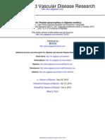 Diabetes and Vascular Disease Research 2010 Ferreiro 251 9