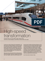 High-speed transformation