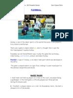 Floorball Rules