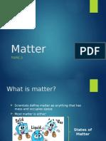 Y9 - Matter