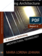 Report2-ArchitecturalTechnology-SensingArchitecture