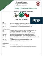 4 H Newsletter 5 15