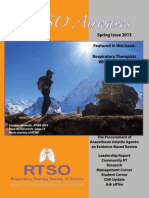 RTSO Airwaves Spring 2015