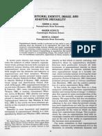Organizational Identity, Image and Adptive Instability