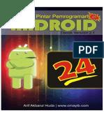 24J AM Pintar Pemrograman Android