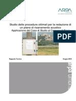 Comune Trevi - Relazione Procedure Ottimali Per La Redazione Del Piano Risanamento Acustico