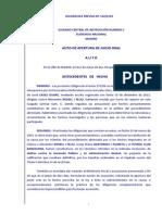 Auto de apertura de juicio oral a Josep Maria Bartomeu y Sandro Rosell
