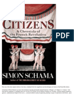 Simon Schama Citizens a Chronicle of the French Revolution