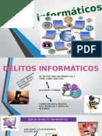 Diapositivas de Delitos Informaticos