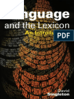 Language and Lexicon