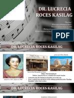 Lucrecia Kasilag
