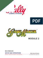 Bally Game Maker 8000 Manual