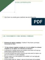 Diapositivas sobre la Investigación