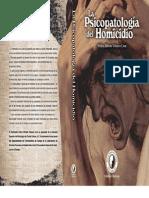 Psicopatologia Del Homicidio - Pedro Velazco Cruz