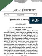 Christology Part 3