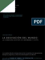 PDFLa Desviación Del Mundo- La Curaduría Después de Szeemann y Hopps.