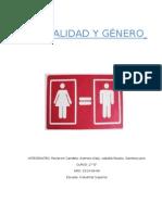 Trabajo Práctico Sexualidad y Género