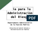 13. Guia Administracion Del Riesgo 2011