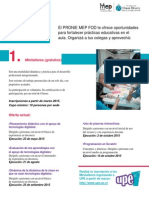 Catalogo Desarrollo Profesional PRONIE MEP FOD