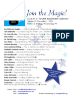 Join The Magic Conference Sessions