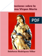 Rodríguez, Ildefonso - Meditaciones Sobre La Santísima Virgen María