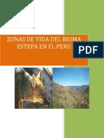 Zonas de Vida Del Bioma Estepa en El Peru1