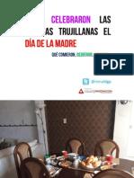 CÓMO CELEBRARON LAS FAMILIAS TRUJILLANAS EL DÍA DE LA MADRE