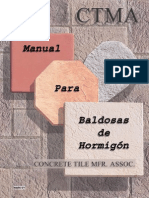 Manual Baldosas de Hormigon