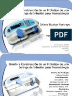 Presentacion Tesis Jeringa de Infusion