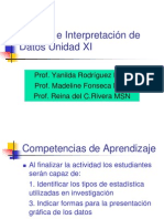 Analisis Interpretacion Datos XI