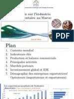 Etude Sur l'Industrie Alimentaire Au Maroc