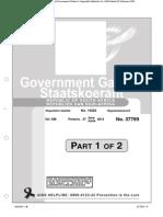 Gazette 37769 - Amendment of the Magistrates Court Rules - 27 June 2014