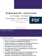 SyM_Clase 9 Simulación Continua