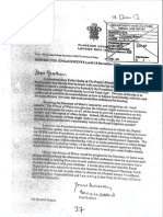 Prince of Wales correspondence with Secretary of State for Culture, 2004