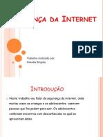 Segurança da Internet_Claudia