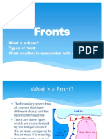 severe weather fronts