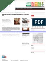 12-05-2015 Oaxaqueños radicados en Yucatán apoyan propuesta de Nerio Torres Arcila.
