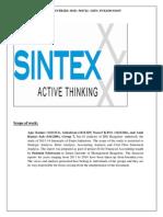 Sintex Analysis