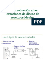 2. Introd Ec Diseño de Reactores Ideales