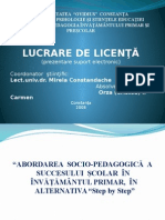 Power Point Licenta 2